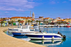 Town of Pakostane in Dalmatia Stock Photography