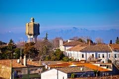 Town of Palmanova skyline view Royalty Free Stock Image