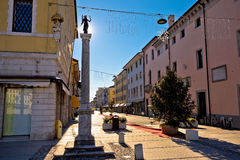 Town of Palmanova streetscape view Royalty Free Stock Photos