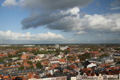 Town panorama Royalty Free Stock Images