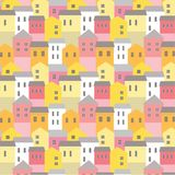 Town Pattern Bright Royalty Free Stock Image