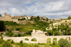 Town of Pedraza de la Sierra Royalty Free Stock Photo