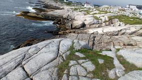 Town of Peggy's Cove Stock Photography