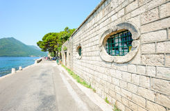 Town of Perast in Montenegro Royalty Free Stock Photos