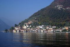 Town of Peschiera, Iseo lake, Italy Royalty Free Stock Photo