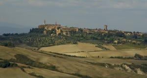 Town of Pienza royalty free stock photos