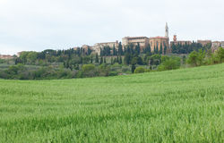 Town of Pienza Stock Photos