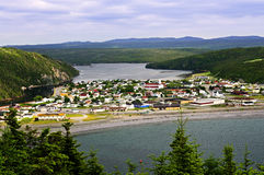 Town of Placentia in Newfoundland Royalty Free Stock Photography