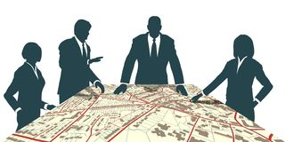Town planners Stock Photos