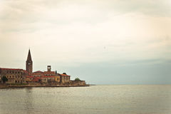 Town of Porec UNESCO world heritage site Royalty Free Stock Images