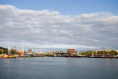 Town-port Vladivostok.Russia Stock Photography