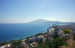 Town and port Zakynthos Stock Photos