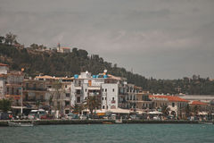 Town and port of Zakynthos Stock Images
