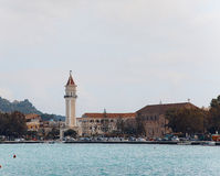 Town and port of Zakynthos Stock Photo