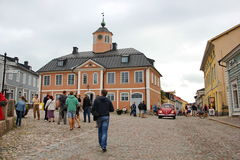 The town of Porvoo Royalty Free Stock Photo