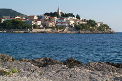 The town of Primosten, Croatia Royalty Free Stock Photo