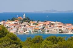 Town Primosten in Croatia Stock Images