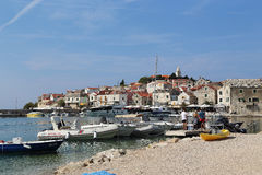 Town Primosten, Croatia Royalty Free Stock Images