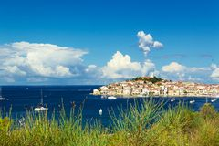 Town of Primosten, Dalmatia, Croatia Stock Photo