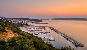 The town of Pylos, Greece Royalty Free Stock Photo