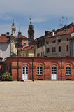 Town of Racconigi, province of Cuneo, Italy Royalty Free Stock Image