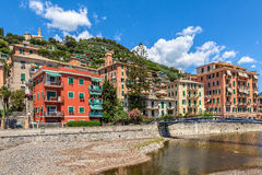 Town of Recco, Italy. Stock Photos