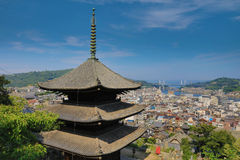 Town in the region of Chugoku.Onomichi. The town in the region of Chugoku.Onomichi stock photography