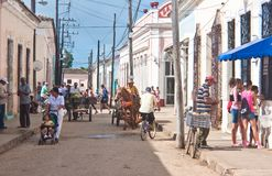 Town of Remedios. Cuba Stock Photography