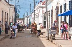 Town of Remedios. Cuba Stock Photography