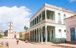 Town of Remedios. Cuba Stock Images