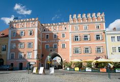 Town Retz, Lower Austria, Stock Photos