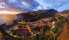Town Ribeira Brava - Madeira Portugal Stock Photography