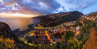 Town Ribeira Brava - Madeira Portugal royalty free stock photos