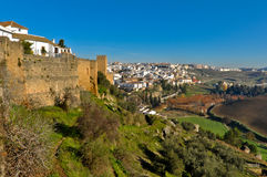 The town of Ronda in Andalusia, Spain Royalty Free Stock Photo