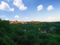Town of Rothenburg ob der tauber Stock Photography