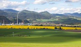 Town Ruzomberok, Slovakia Royalty Free Stock Photos