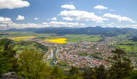 Town Ruzomberok, Slovakia Royalty Free Stock Photo