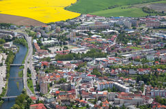 Town Ruzomberok, Slovakia. Small town Ruzomberok at Slovakia royalty free stock photography