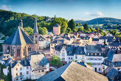 Town of Saarburg, Germany Royalty Free Stock Photos