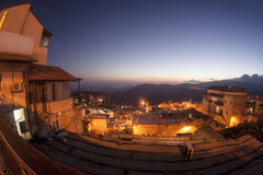 The town of Safed in northern Israel Royalty Free Stock Photography