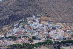 Town San Andres, Tenerife Spain Stock Image