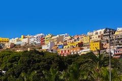 Town San Sebastian - La Gomera Island - Canary Stock Photos