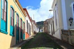 Town of Santo Domingo de Garafia Stock Photography