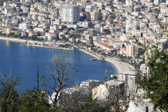 Town of saranda Royalty Free Stock Photography