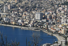 Town of saranda Stock Photo