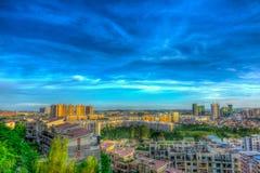 Town Scenery Stock Photo