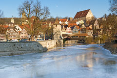 The town of Schwaebisch Hall, Germany Royalty Free Stock Images