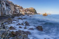 TOWN OF SCILLA, CALABRIA royalty free stock photos