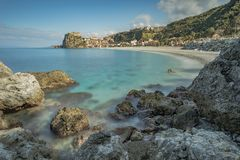 TOWN OF SCILLA, CALABRIA royalty free stock photo