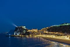 TOWN OF SCILLA, CALABRIA stock photography